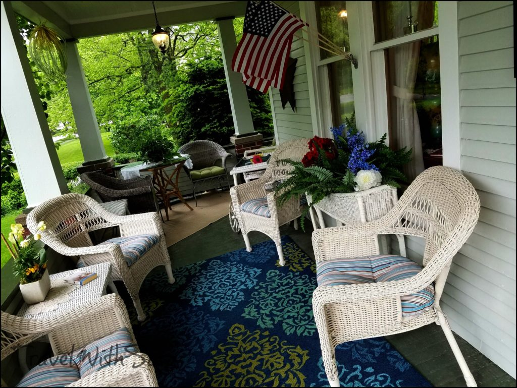 B And B Porch