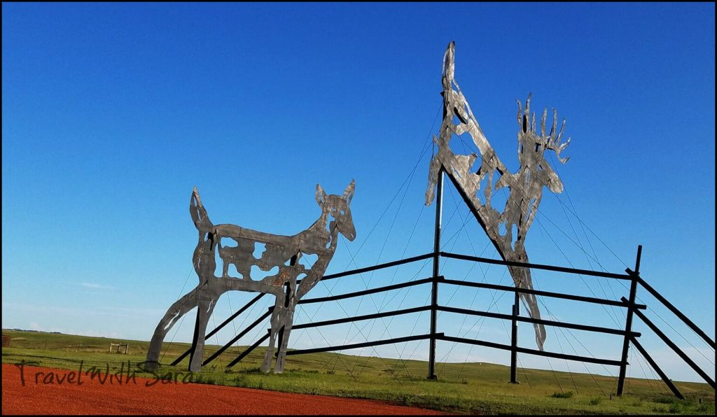 Deer Crossing Enchanted Highway