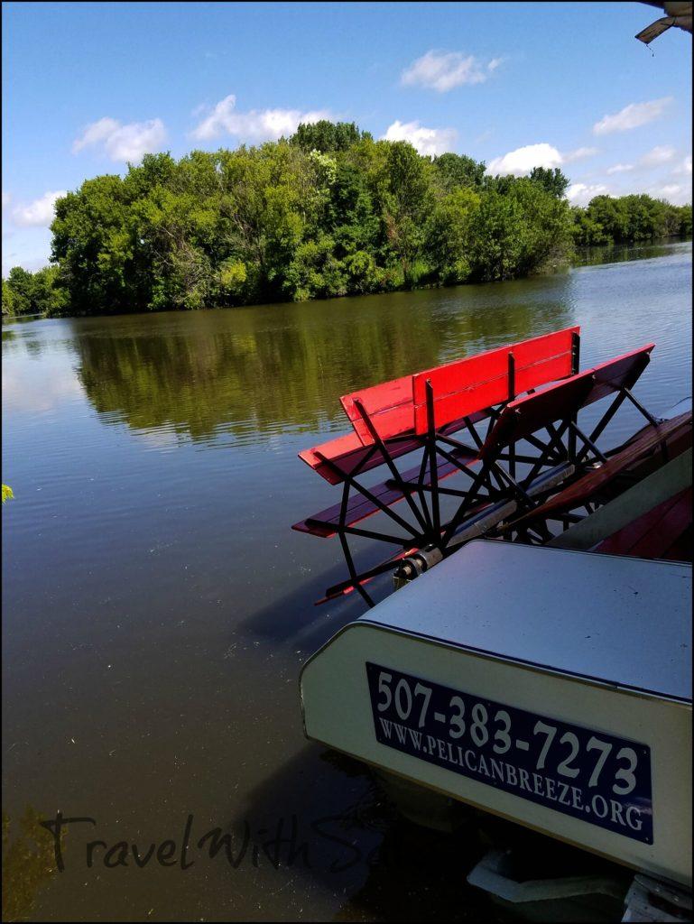 Pelican Breeze Back of Boat