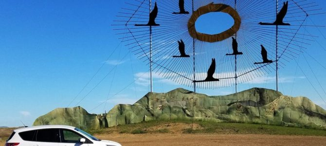 Find Enchantment Along The Enchanted Highway In North Dakota