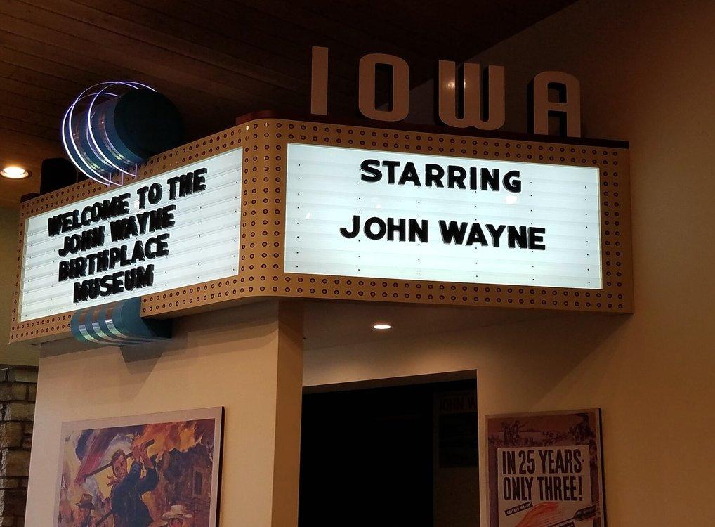 Starring John Wayne