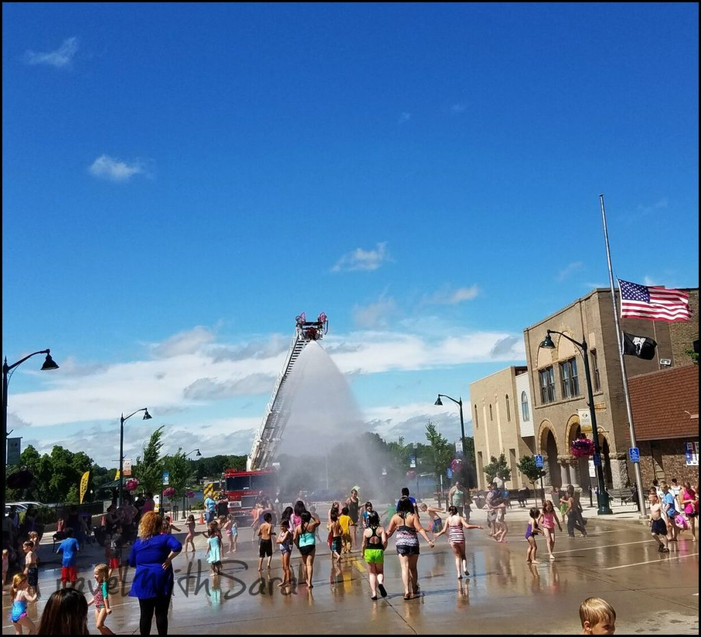 splash pad albert lea
