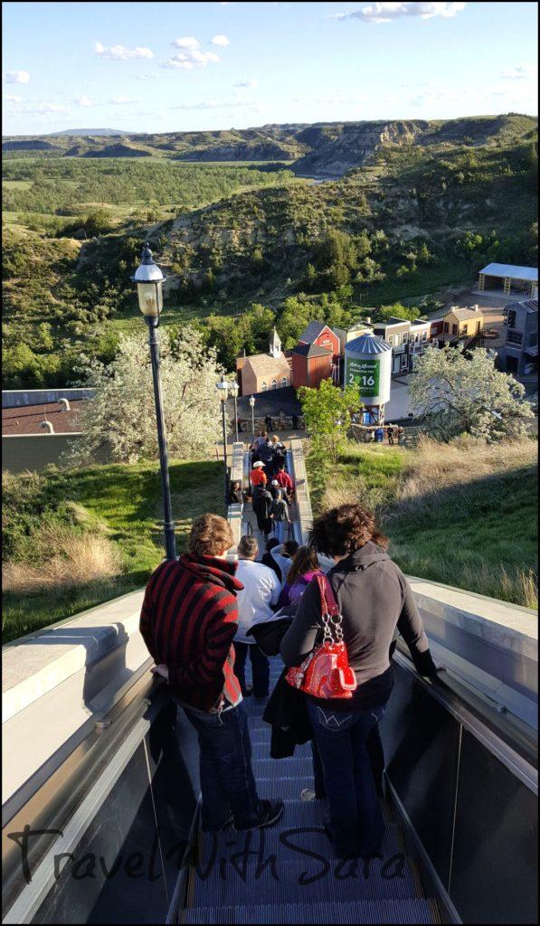 Medora escalator