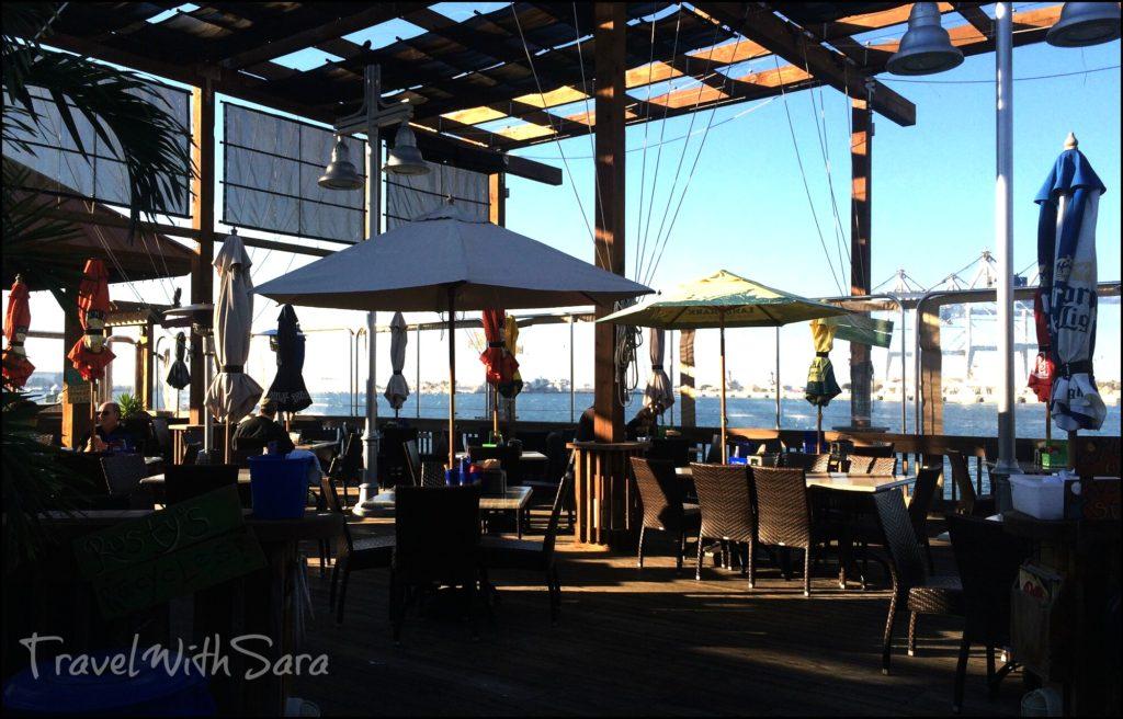 Rustys outdoor dining