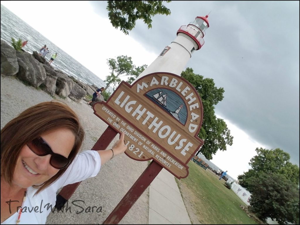 Sara and Marblehead Lighthouse