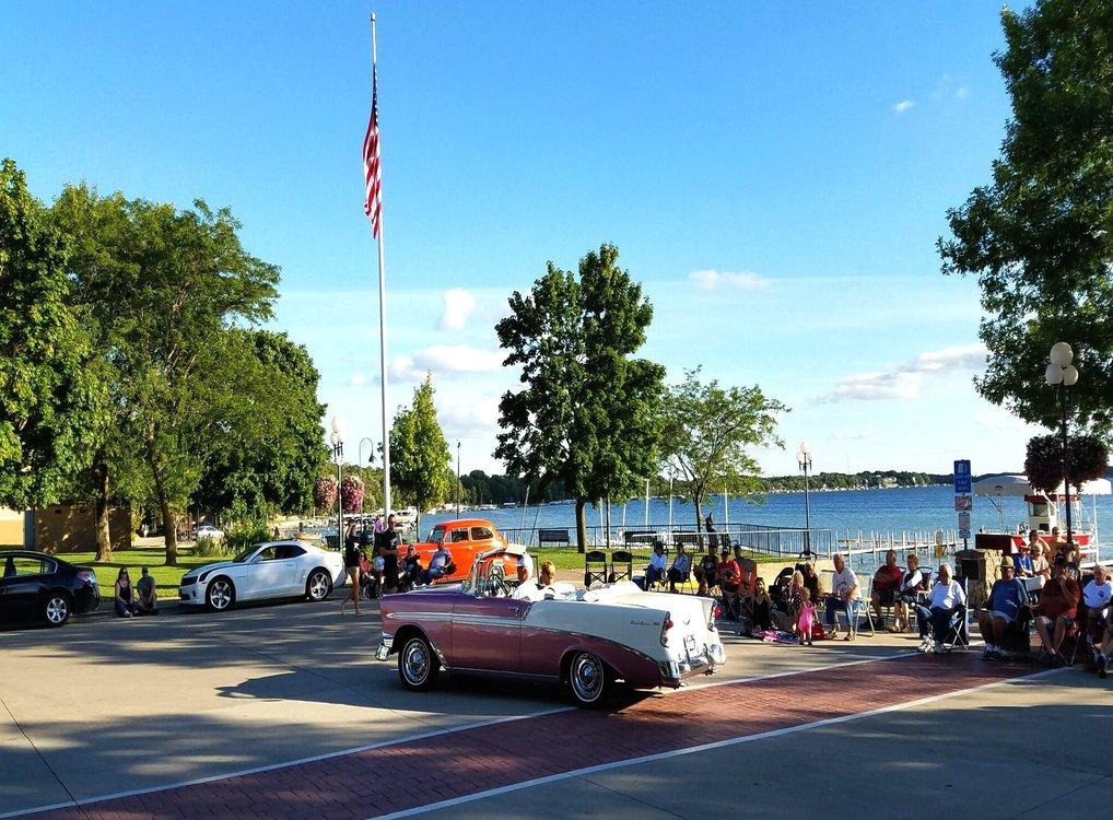 Classic Car Show Clear Lake Iowa