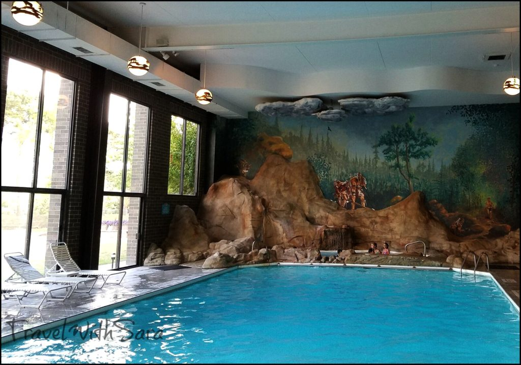 Indoor Pool Sawmill Lodge