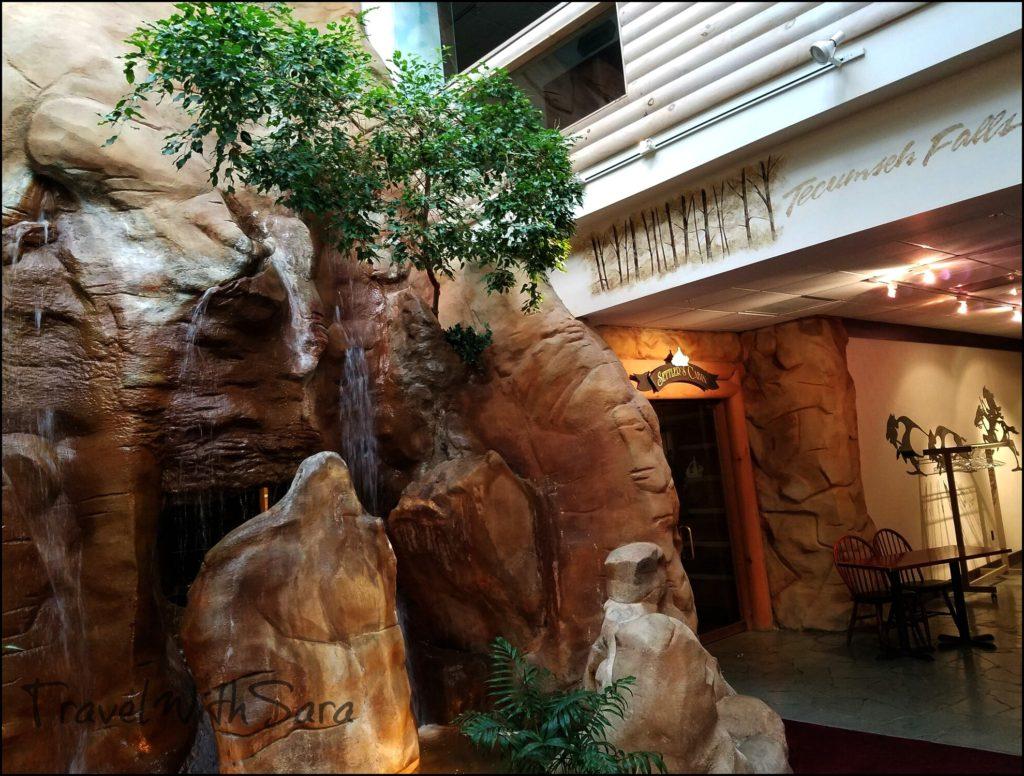 falls at Sawmill Creek Resort