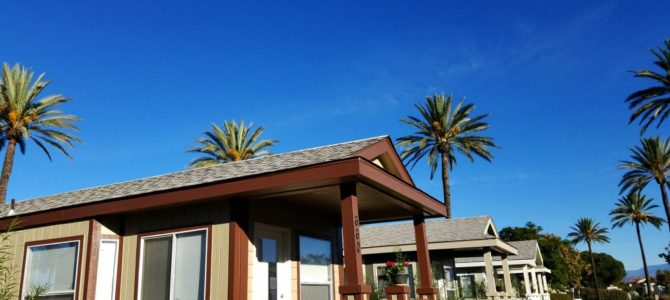 Luxury Lodging In a Tiny House At Golden Village Palms RV Resort