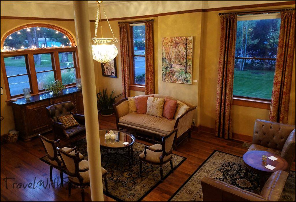 Balch Hotel Living Room