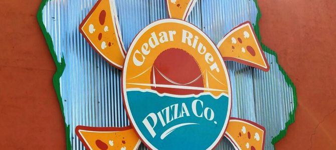 Tasty Pizza On The River In Charles City At Cedar River Pizza Co.