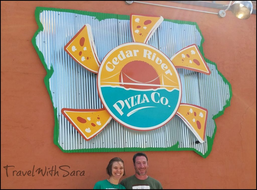Pizza In Charles City Iowa With The Owners