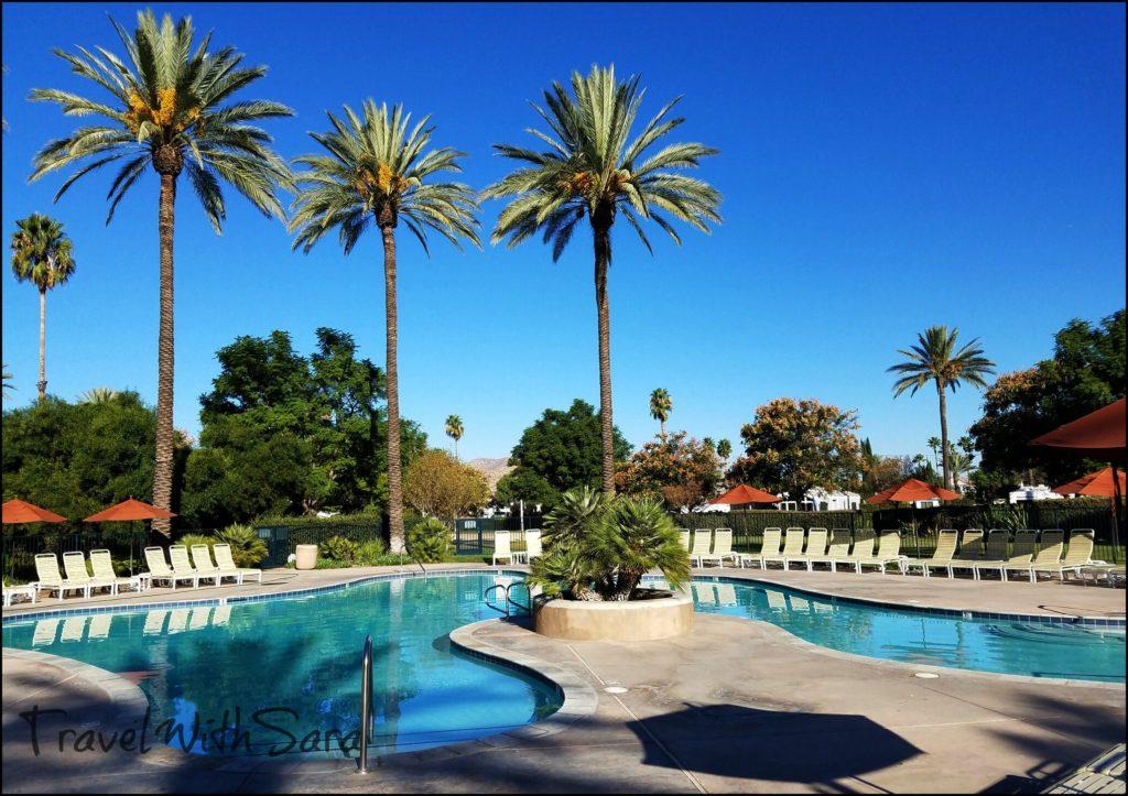 pool at golden village