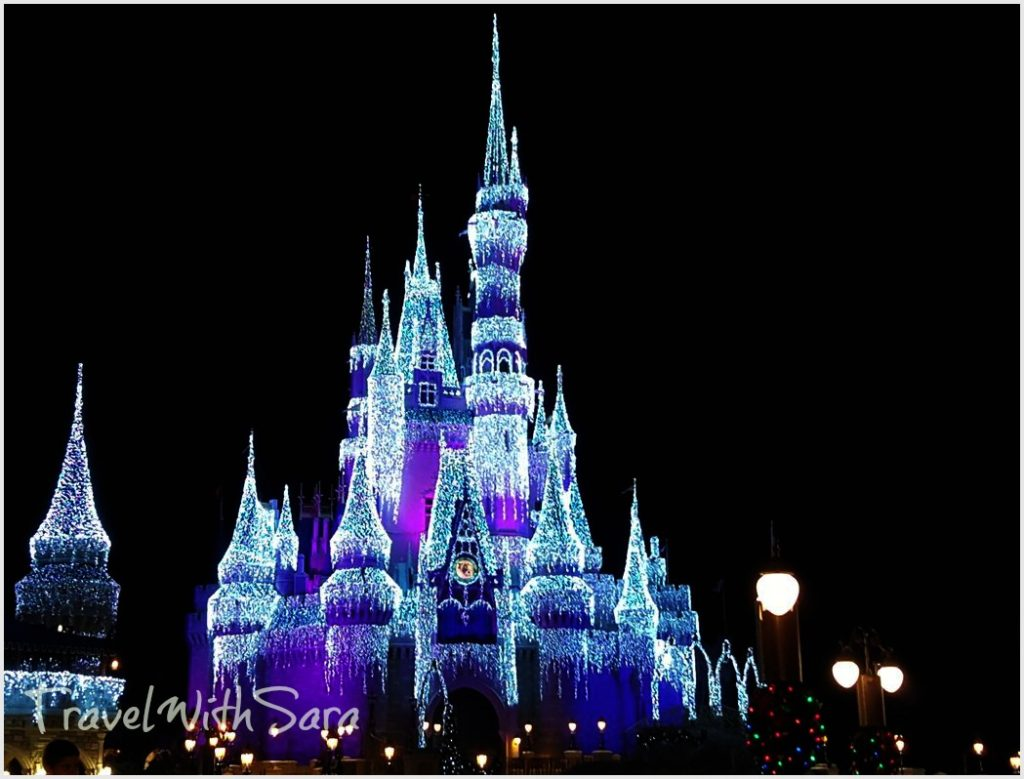 Disney Castle Lights
