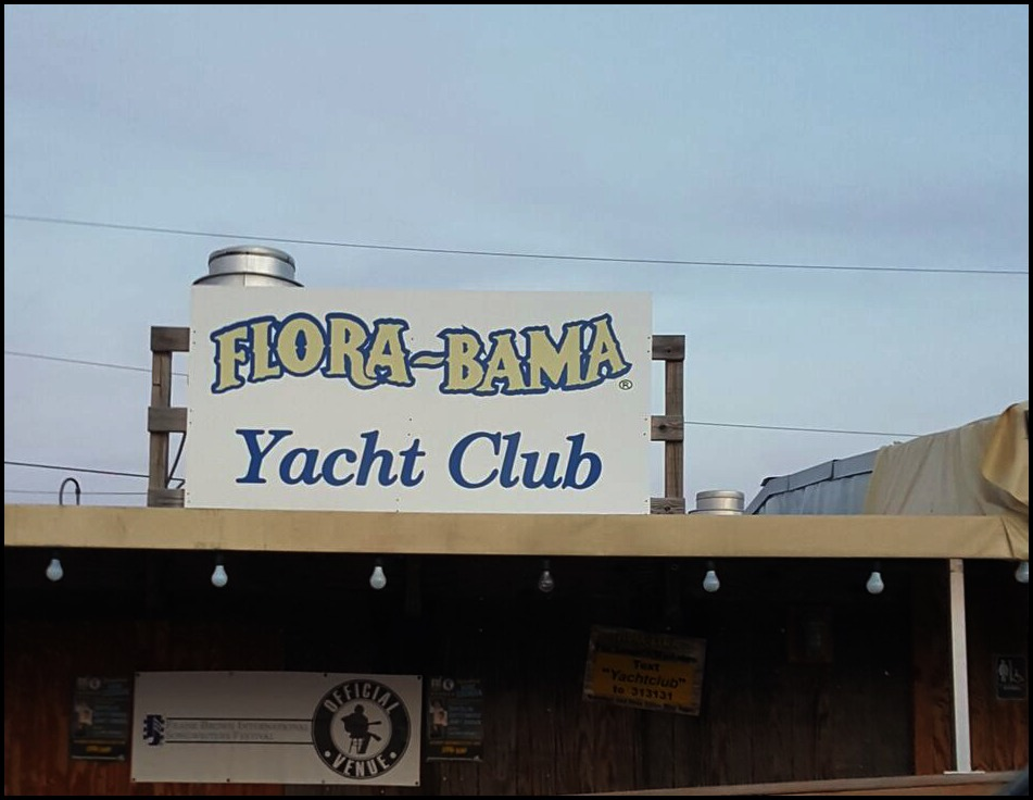 Flora-Bama Yacht Club Sign