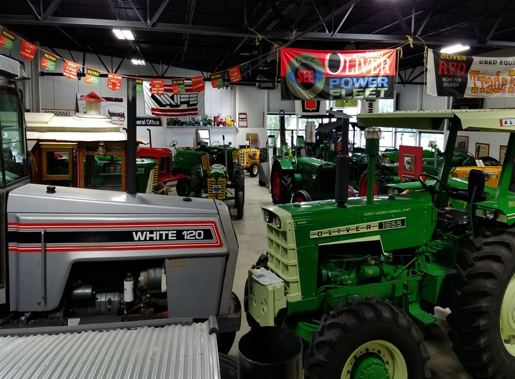 Charles City, Iowa is home to Hart-Pharr, Oliver and White Farm Tractors