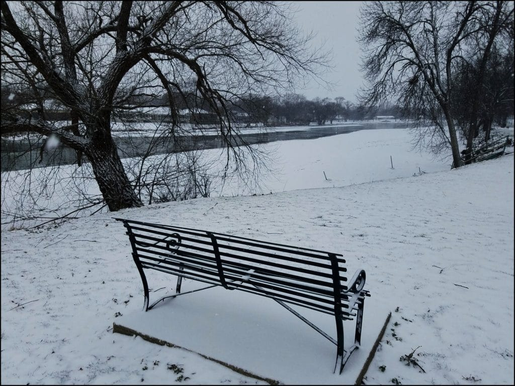 Bench in Charles City