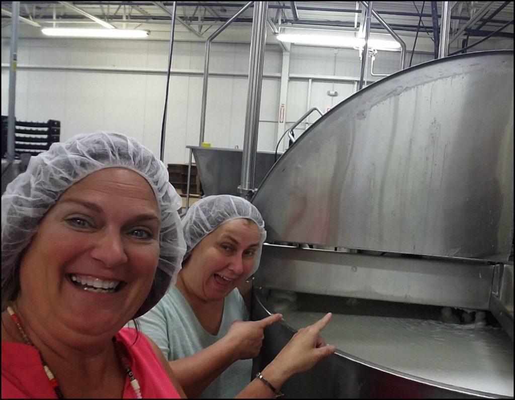 Linda and Sara at Udderly Smooth