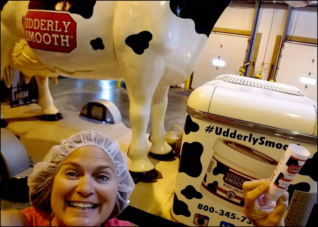 Sara at Udderly Smooth