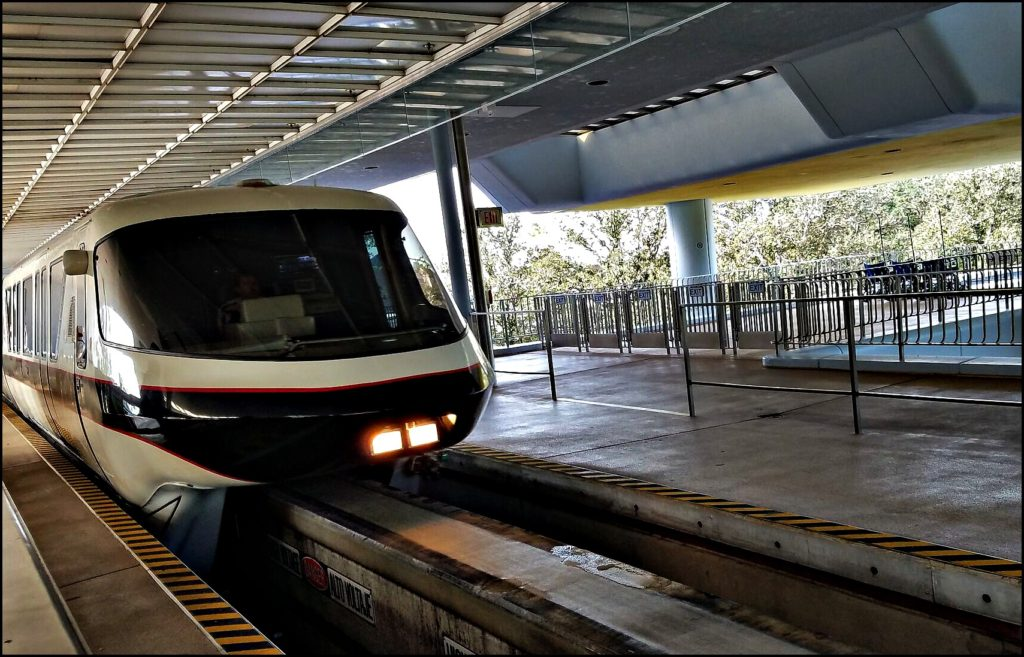 Monorail at TTC