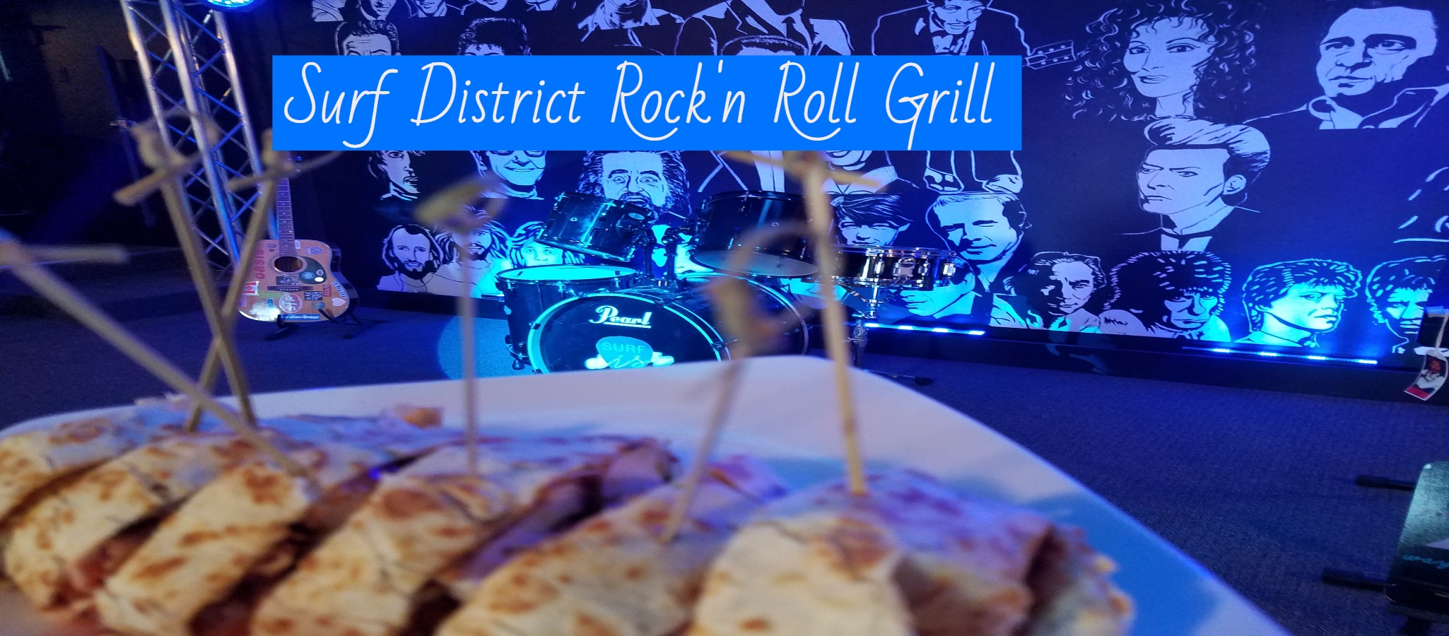 Surf District Rock 'n Roll Grill Offers Fun Experience In Clear Lake, Iowa