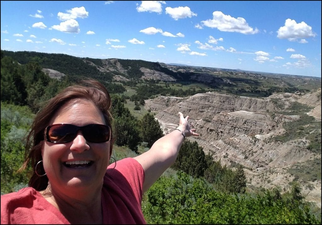 Theodore Roosevelt National Park Selfie