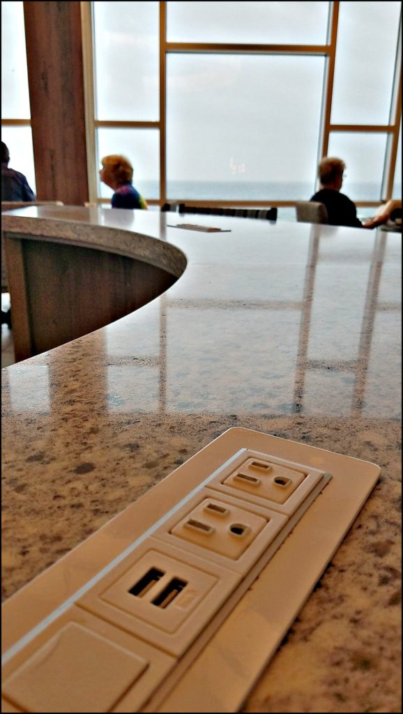 charging station at tides