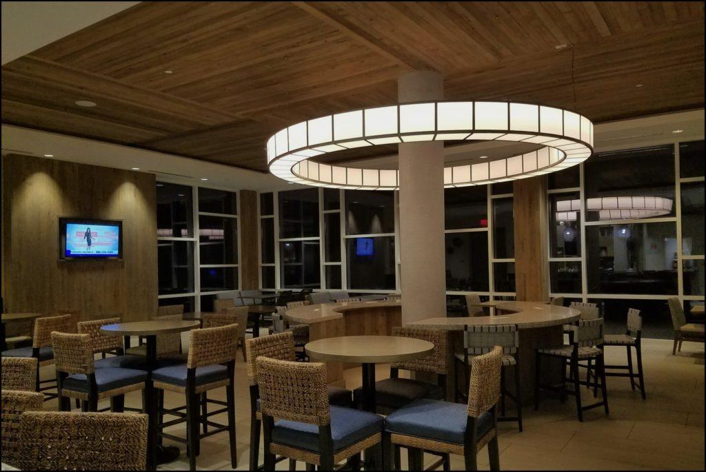 lobby at Tides