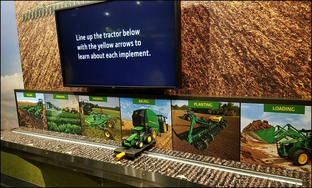 Hands on at Deere Museum
