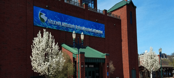 Dubuque, Iowa Is Home To The National Mississippi River Museum & Aquarium