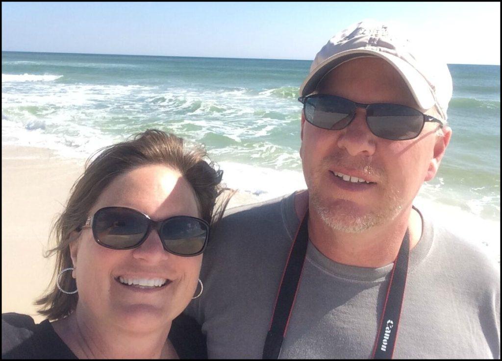 Sara and Todd on Beach