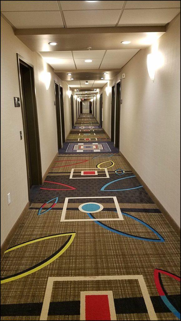 Hampton Inn Hallway Kenosha