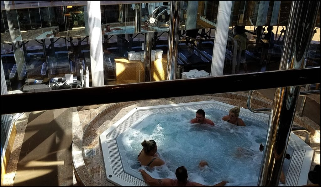 Carnival Legend Hot Tub