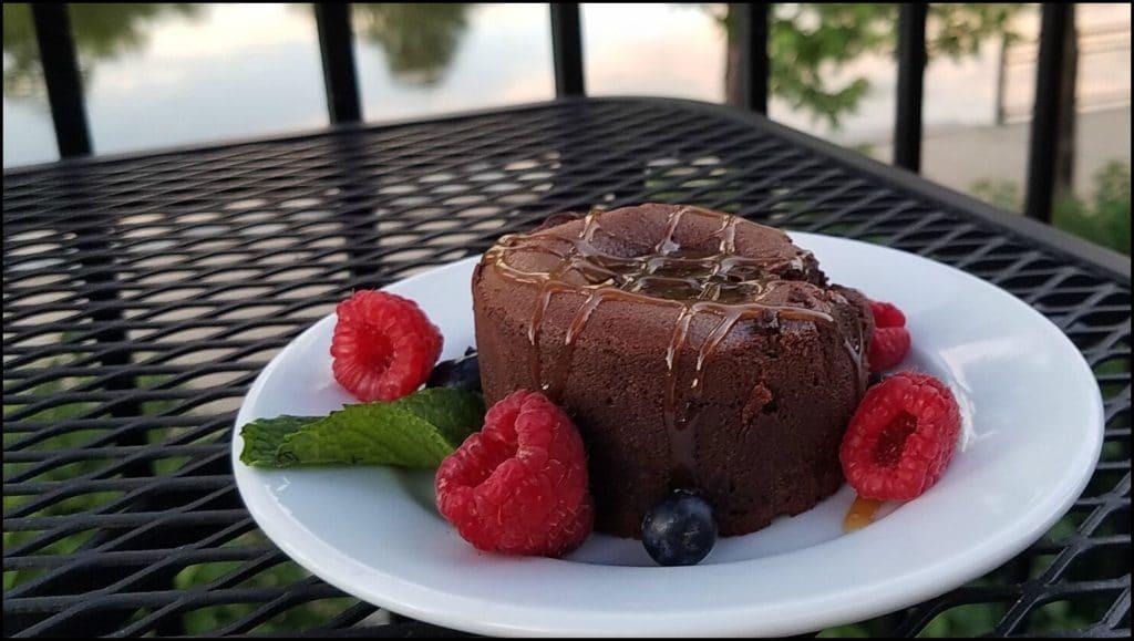lava cake Bleuroot