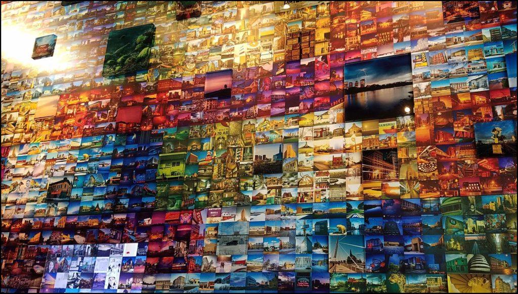 Alt Hotel Social Wall