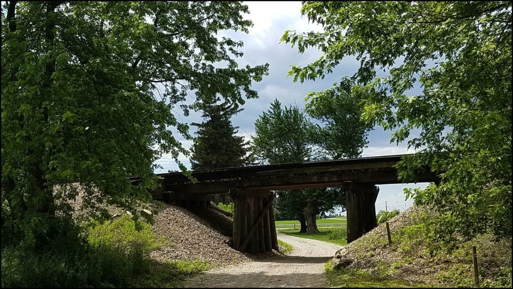 Bridge near Frank Lloyd Wright House