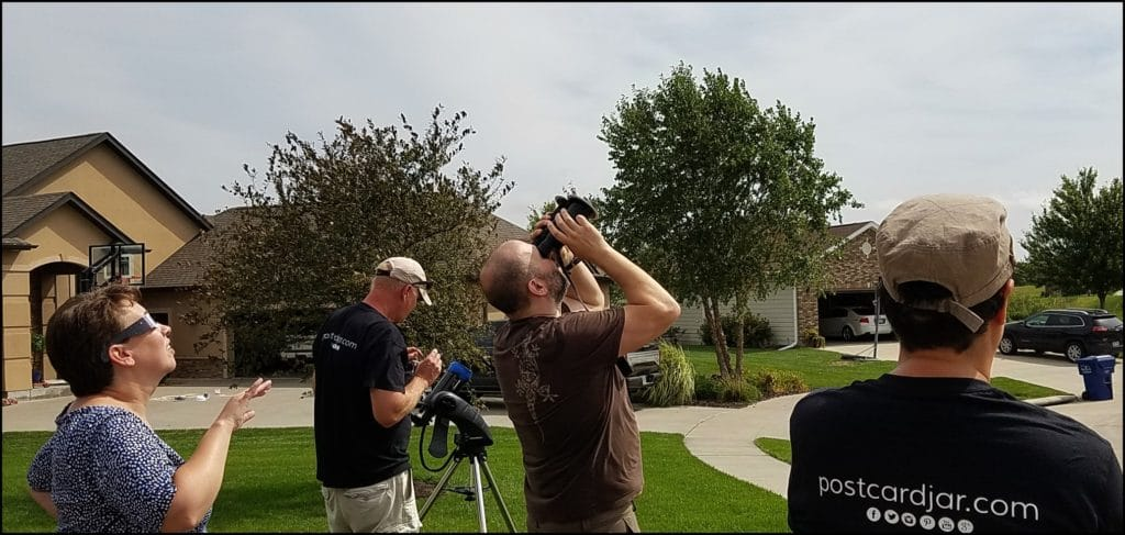 Eclipse Party Viewing