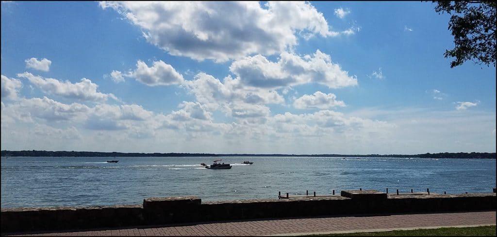 Seawall Clear Lake Iowa