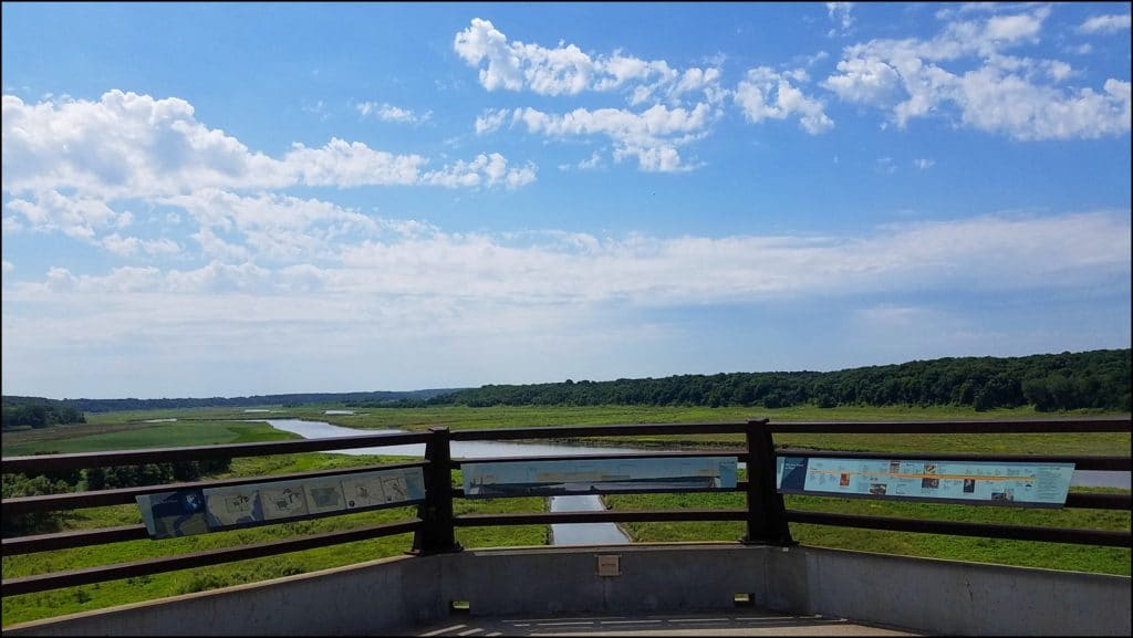 view on High Trestle Trail