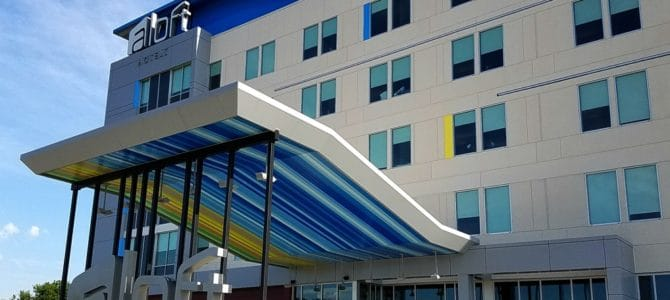 Aloft Hotel Wichita, Kansas: Contemporary Lodging