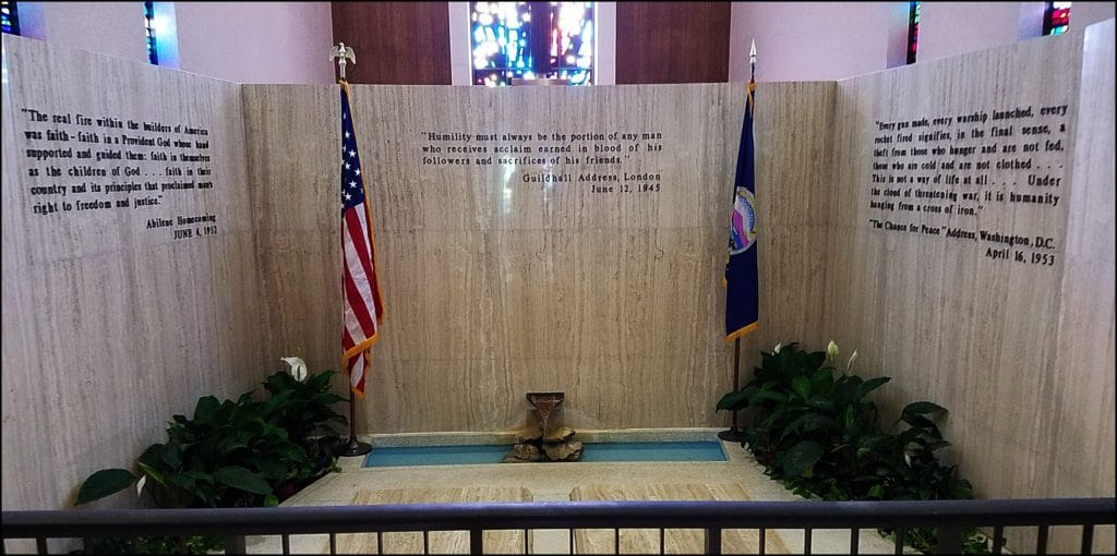 Dwight D Eisenhower Burial Site