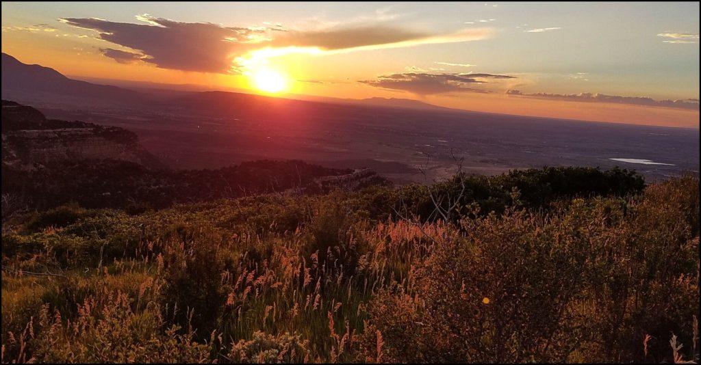 Sunset Mesa Verde