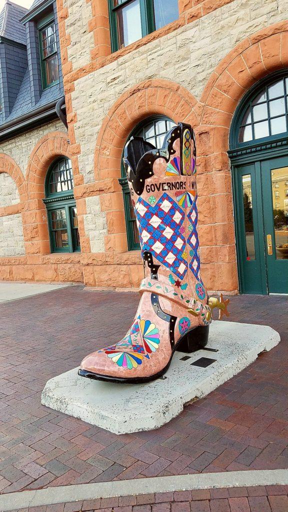 Boot In Cheyenne