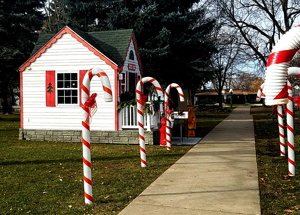 Candy Canes Christmas By The Lake