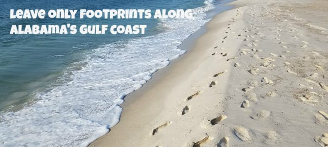 Leave Only Footprints Along Alabama's 32 Miles Of Pristine Beaches