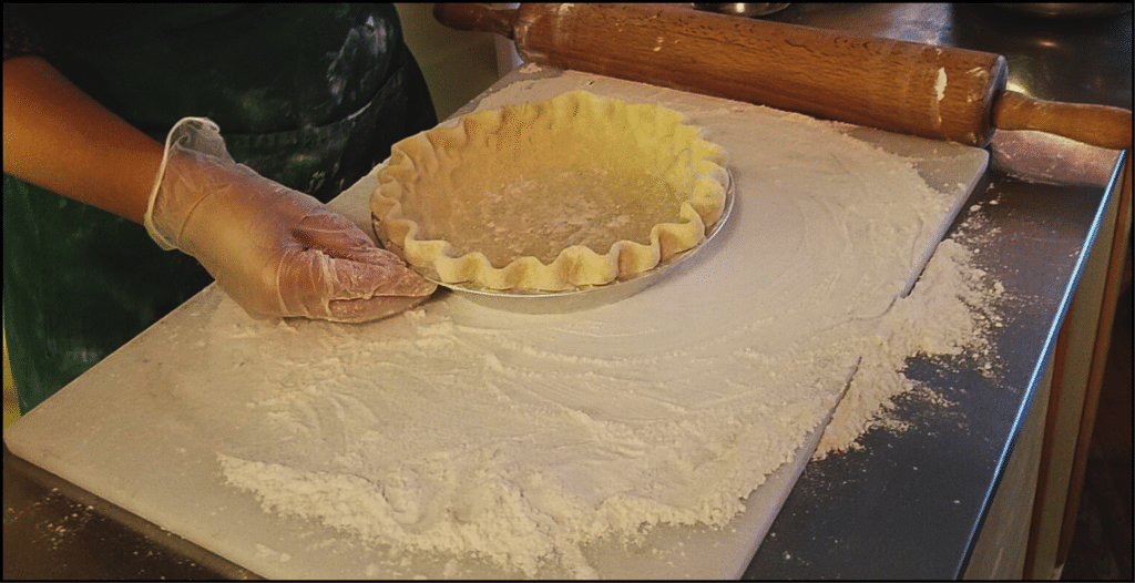 Pie Rolling at Bread Basket