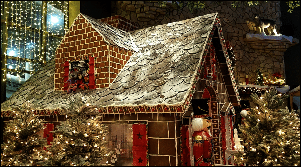Gingerbread House Great Wolf Lodge Grapevine Texas