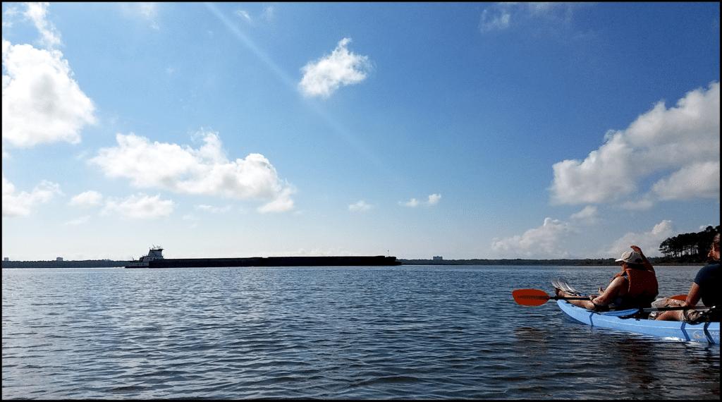 kayaking Gulf Shores