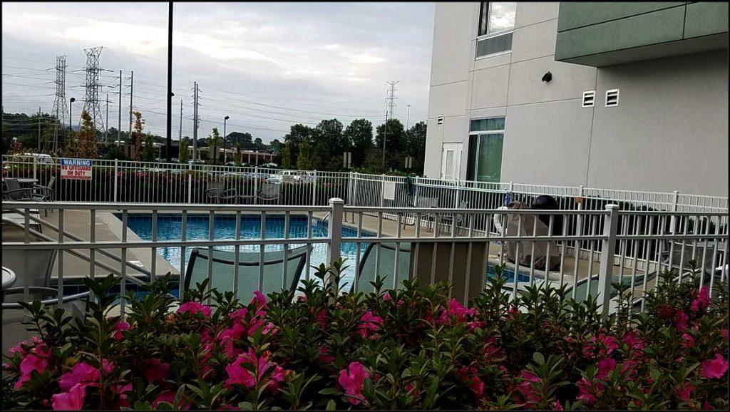 Springhill Suites pool Huntsville