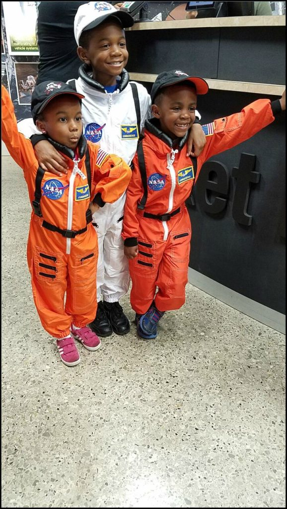 Kids at U.S. Space and Rocket Center Huntsville